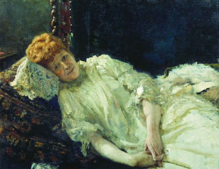 портрет пианистки