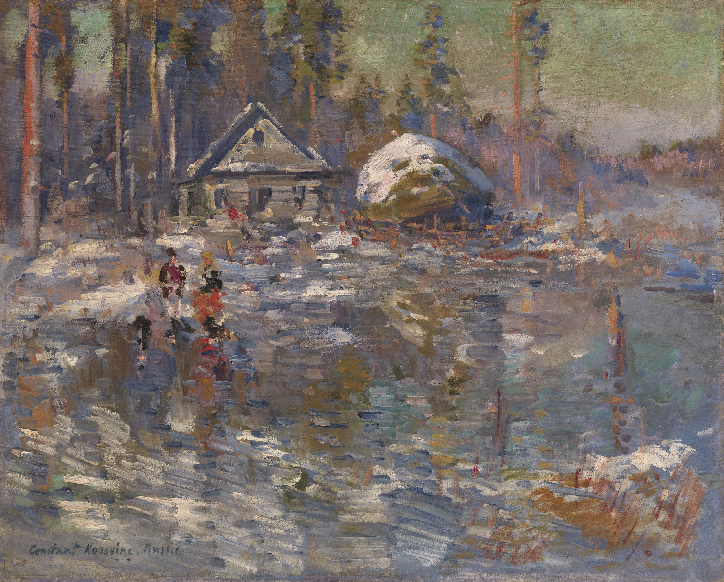 Lot 16 Konstantin Korovin, Frozen Lake