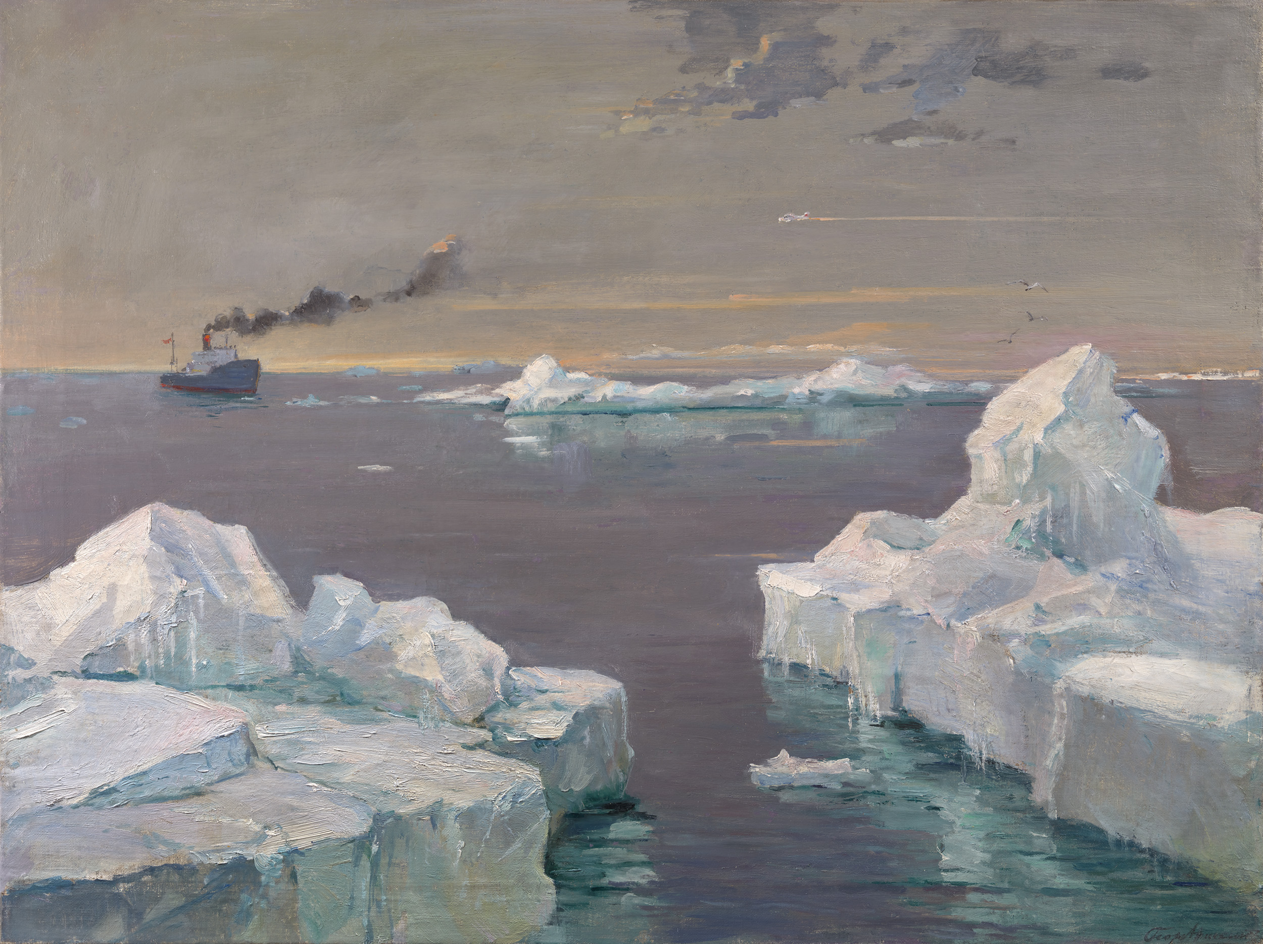 Lot 23, Georgy Nissky, Icebergs