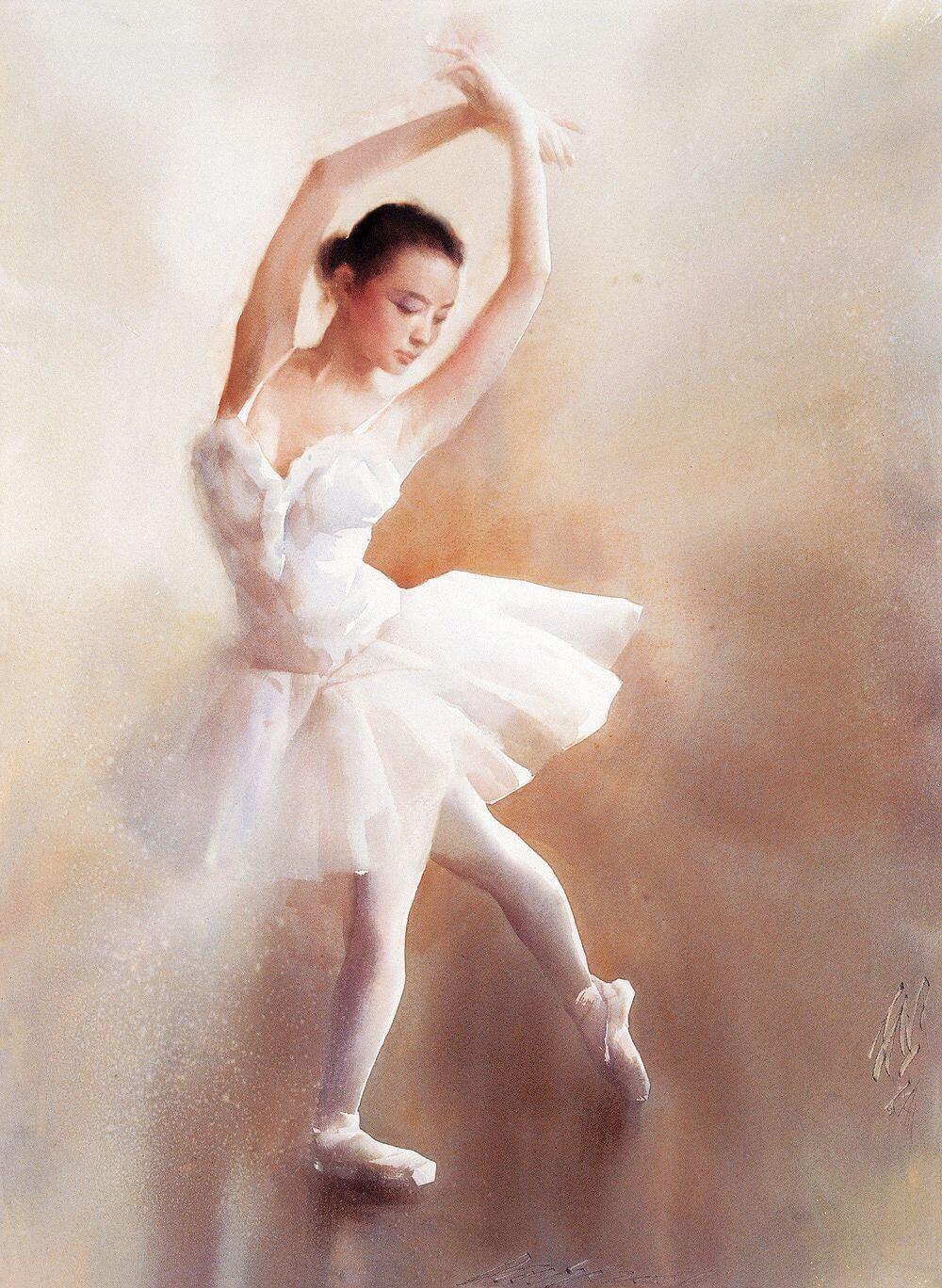 нежные картинки балерин этого необходимо изучить