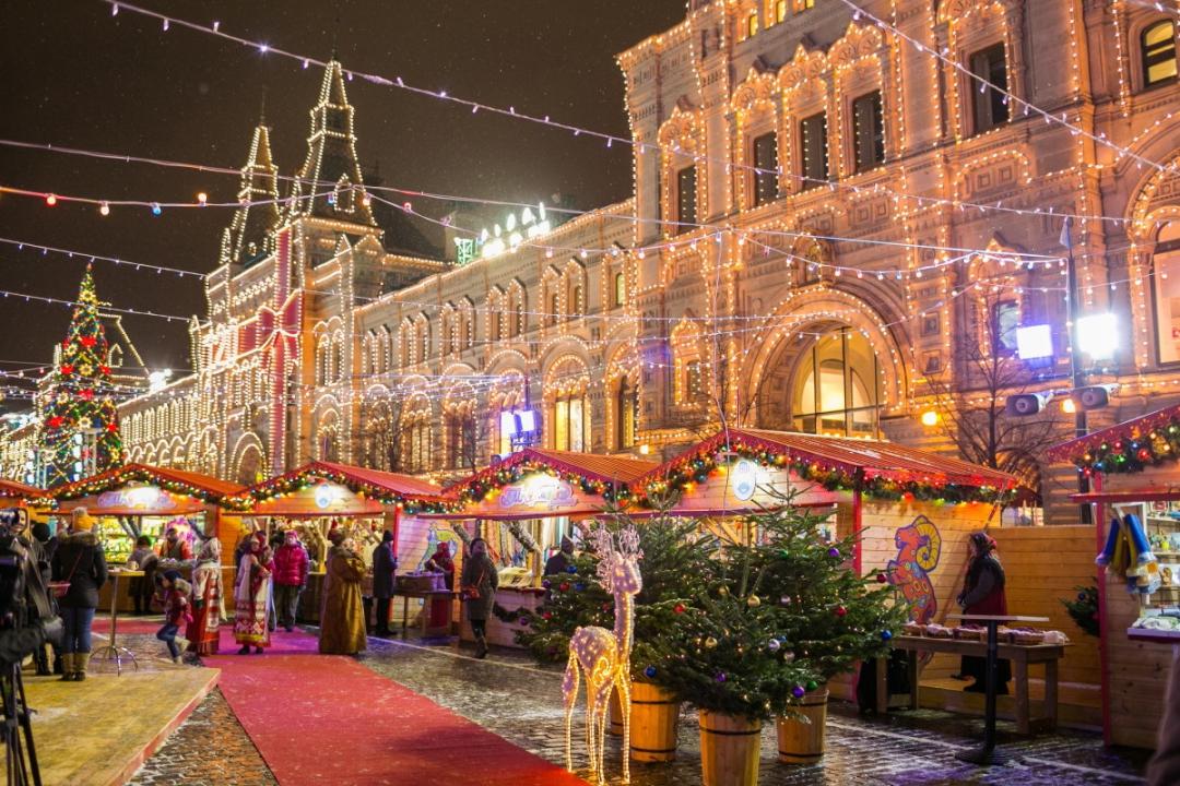 путешествие в рождество фото москва русские